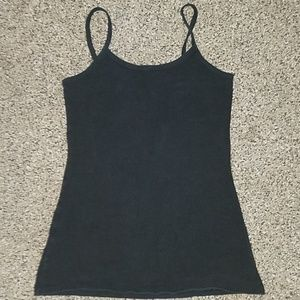 BKE black stretchy tank top size small